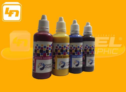 Botella Tinta Para Sublimacion Color Make 60 Ml Sublimar