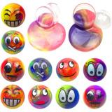 Slime Emoji Coloridas Esferas Llenas De Diversion