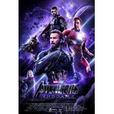Película Avenger End Game 2019 Español Full Hd Combo 3x1