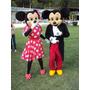 Muñecos Minnie Y Mickey Para Tus Fiestas Infantiles