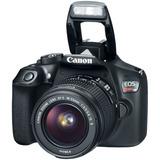 Camara Profesional Canon T6 Eos Rebel Dslr Kit 75-300m 18-55