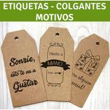 Etiquetas, Colgantes, Tags,  Boutique, Cartón (72unidades)