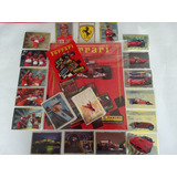 Set Ferrari  Album + Todas Las Barajitas A Pegar Completo