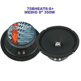 Medio Sellado Bk 8 Pulgadas Modelo 75bheat8s 350 Watts 8 Ohm
