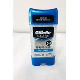 Desodorante Gillete Gel Men 3,8 Oz/ 107 Grs. Original