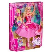 Barbie Zapatillas Magicas La Original De Paquete