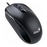 Mouse Genius Dx-110 | Óptico | Usb | Negro | 5vrds