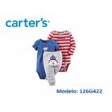 Conjuntos Carters Set Bodys Carters 3 Piezas