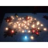 Luces Cálidas De Navidad