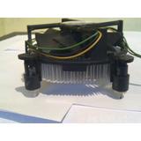Fan Cooler Disipador Socket 775 1155 1156 X 10.verdes