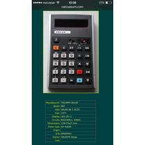 Calculadora Triumph-adler 1974 Científica (de Las Primeras).