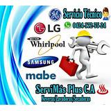 Servicio Técnico Lavadoras Neveras Whirlpool Mabe Samsung