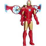 Iron Man Con Aerodeslizador - Original Hasbro