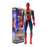 Muñeco Hasbro Vengadores Spiderman 30cm Sabana Grande