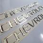 Emblemas Chevrolet Cromado Autoadhesivo Optra, Spark, Etc Porsche Cayenne