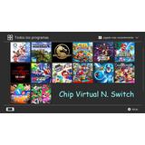 Chip Virtual Nintendo Switch 2019 Todos Los Juegos Gratis!!
