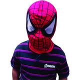 Mascara Spiderman / Hombre Araña Edad 4 A 12 Años