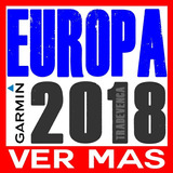 Mapas Garmin Europa Completa Ruteable | Version 2018 |