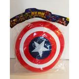 Escudo Capitán América Con Luces Y Sonido