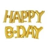 Globos Metalizados Feliz Cumpleaños 40 Cm