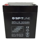 Pila Bateria 12v 4ah Ups Cerco Electrico Lampara