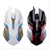 Mouse Gamer M20 4 Botones Luz Led Colores 1600 Dpi Grande