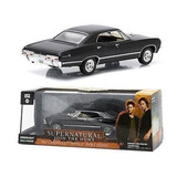 Carro Escala 1:64 Greenlight Supernatural  Impala 1967
