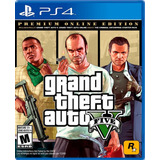 Juego Grand Theft Auto 5 Premiun Edition Ps4 Somos Tienda