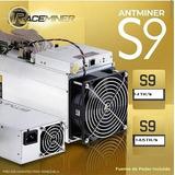 Antminer S9 14 Th/s 14.5 Th/s Incluyen (fuente De Poder)