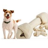 Juguete Hueso De Carnaza Limpieza Bucal #1 Perros 13unidades