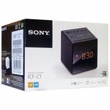 Corneta Reloj Desperador Sony Icfc1, Nuevo
