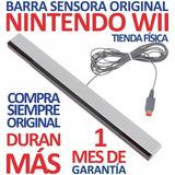 Barra Sensora Receptora Original Nintendo Wii Y Wii U (7v)