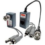 Video Balun Cctv  Rj45 Video,audio,corriente 400mts Ahd Todo
