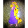 Figura En Foami Enredados- Rapunzel