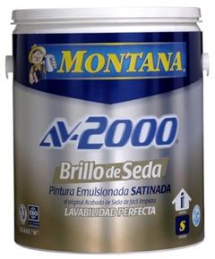 Pintura montana brillo de seda satinada av 2000 clase a bs - Pintura satinada precio ...