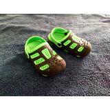a0c2a320 Sandalias Chancletas Cholas Para Niños Tipo Crocs Numero 27