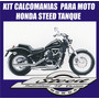 Kit Calcomania Moto Honda Steed Tanque