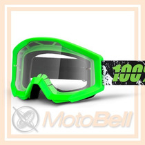 Lente 100% The Strata Crafty Verde Motocross Enduro Downhill