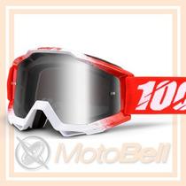Lente 100% The Accuri Aaa Rojo Motocross Enduro Downhill