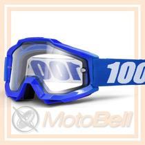 Lente 100% The Accuri Reflex Azul Motocross Enduro Downhill