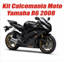 Kit Calcomanias Yamaha Yzf R6 Desde 2007 Al 2010