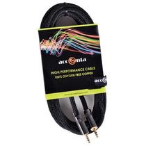 Cable Acc-2606 1.8mts Estéreo De 3,5 Mm A 3,5 Mm