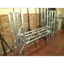 Truss Tipo H Para Display En Aluminio