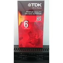 Cassette Vhs-t120 Premium Tdk