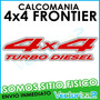 Calcomania 4x4 Frontier Turbo Diesel Taman Original Off Road