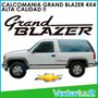 Calcomania Chevrolet Grand Blazer 4x4 Marca 3m Garantizada!!