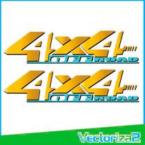 Calcomanias 4x4 Off Road Zna Rich De Dongfeng Alta Calidad