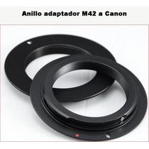 378 Anillo Conversor Montura M42 A Canon Eos