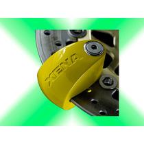 Candado Con Alarma Para Moto Xena Xx6 Grande Xcel