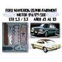 Juego Empacadura Ford 144/170/200 Maverick Zephir Fairmont